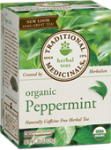 Peppermint Organic, 16 Tea Bags .85 oz - Click Image to Close