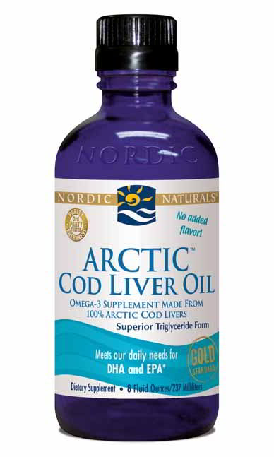 Cod Liver Oil Arctic, 8 oz Unflavored