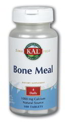 Bone Meal w/Vit. D, 100 Tabs