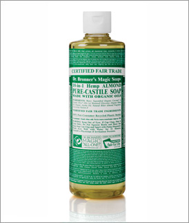 Almond Organic Liquid Soap, 16 oz.