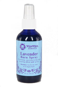 Lavender Burn Spray, 4 oz