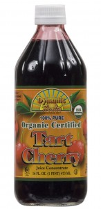 Tart Cherry Organic Certified Concentrate, 16 fl oz