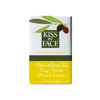 Olive & Green Tea Bar Soap, 8 oz