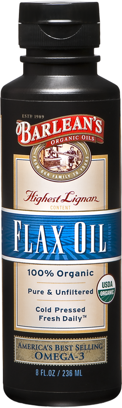 Lignan Flaxseed Oil, 8 oz