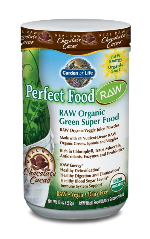 Perfect Food RAW Organic Chocolate, 240g Powder