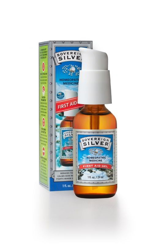 Homeopathic Silver First Aid Gel, 1 oz (29 ml)