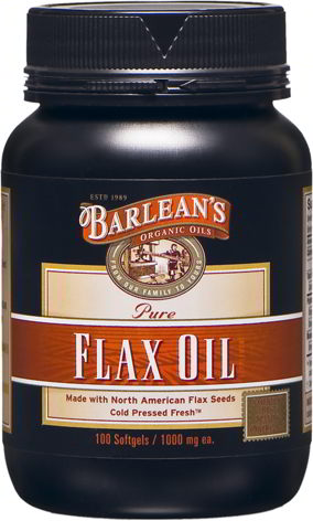 Flaxseed Oil, 100 Capsules