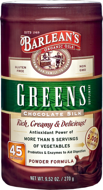 Chocolate Silk Greens, 9.52 oz
