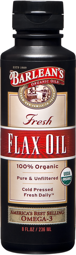 Flaxseed Oil, 8 oz