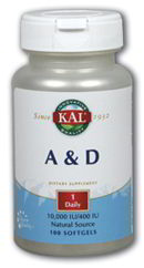 A & D 10/400, 100 softgels