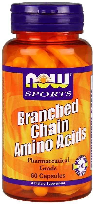 Branched Chain Amino Acids, 60 Cap