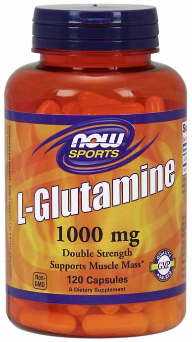 L-Glutamine 1000 mg, 120 Caps