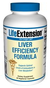 Liver Efficiency Formula, 30 vcaps
