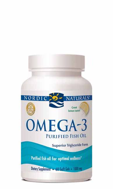Omega-3, 60 Softgels Lemon