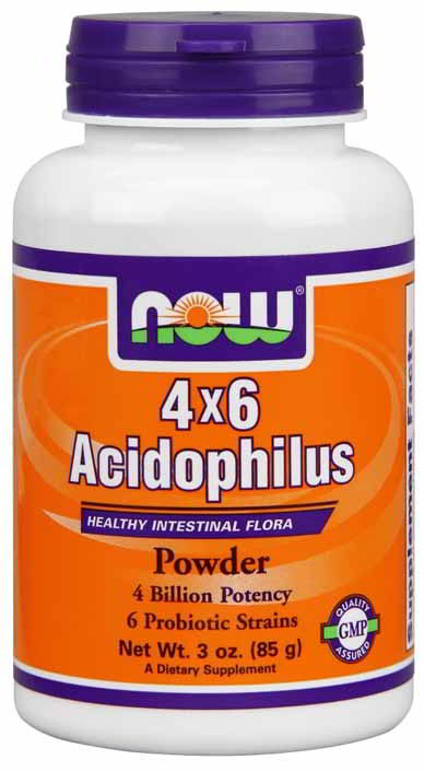 Acidophilus 4 X 6 Powder, 3oz