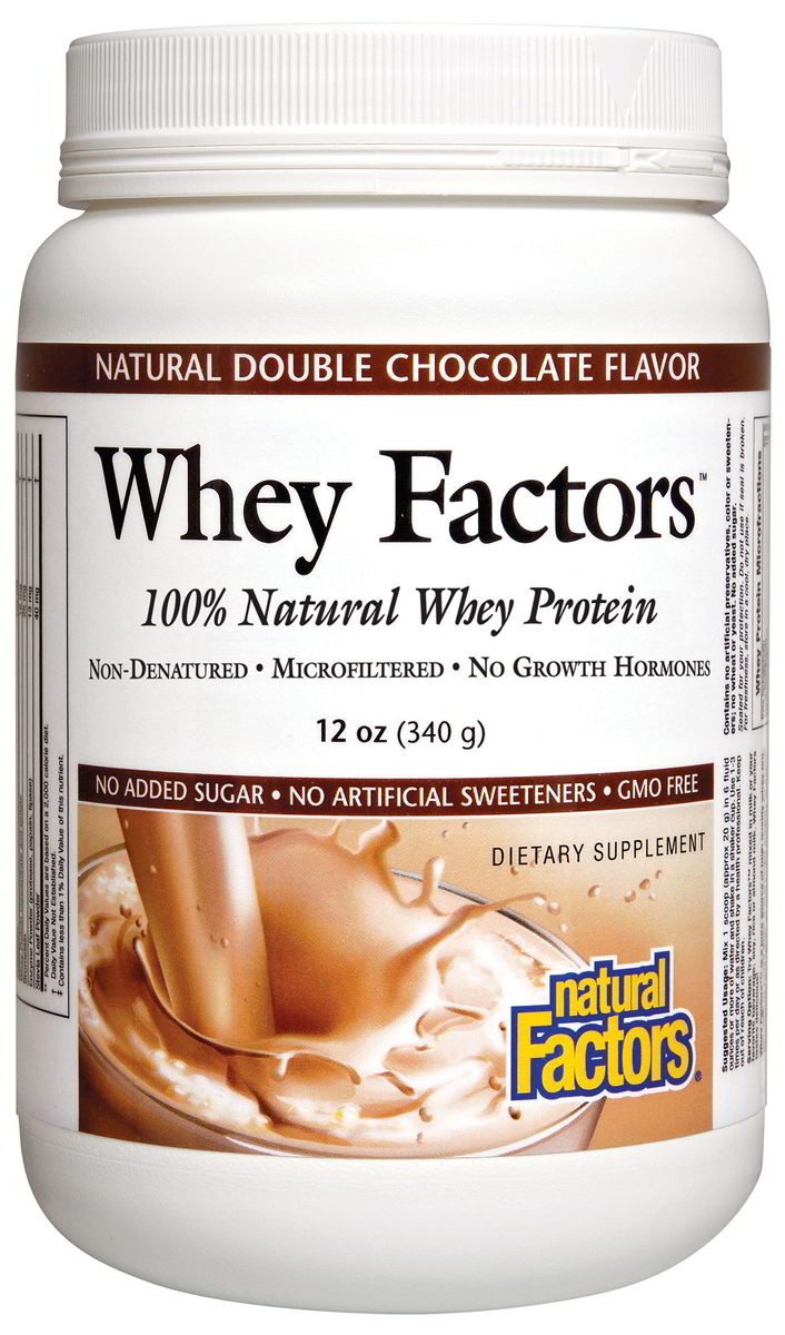 Whey Protein 100% Natural, Double Choc 12 oz