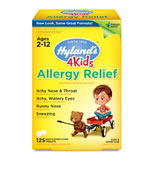 Allergy Relief 4 Kids, 125 Tab