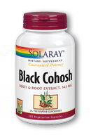 Black Cohosh Root 545mg, 120 Caps