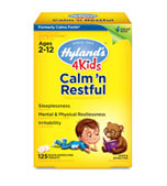 4 Kids Calm 'n Restful, 125 Tab